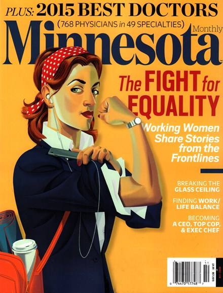 Minnesota Monthly Cover - 10/1/2015