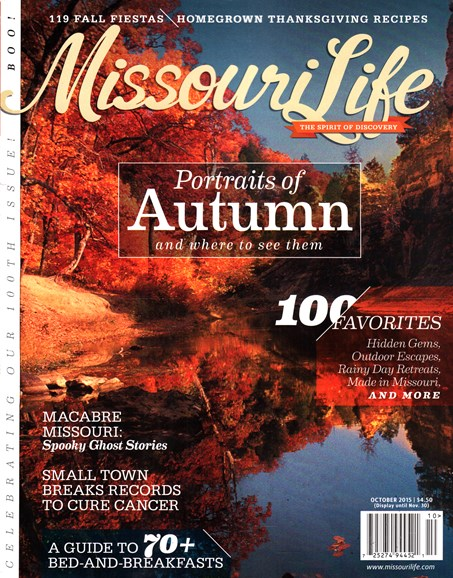 Missouri Life Cover - 10/1/2015