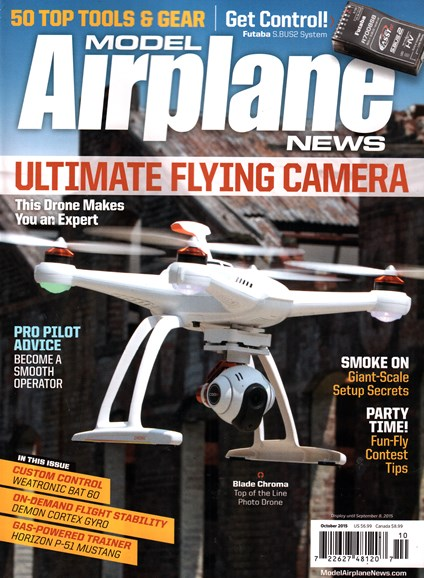 Model Airplane News Cover - 10/1/2015