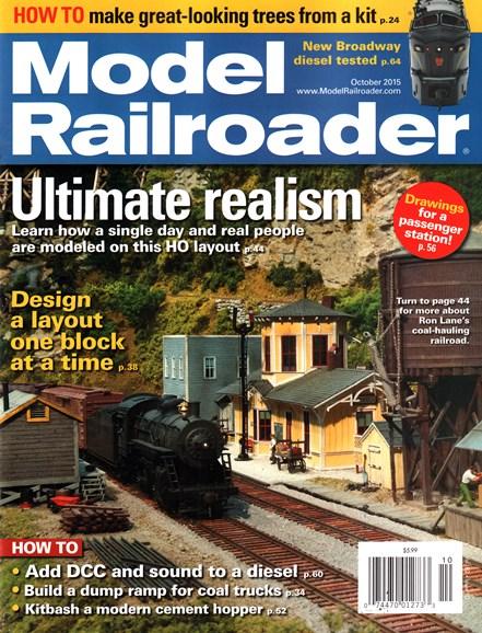 Model Railroader Cover - 10/1/2015