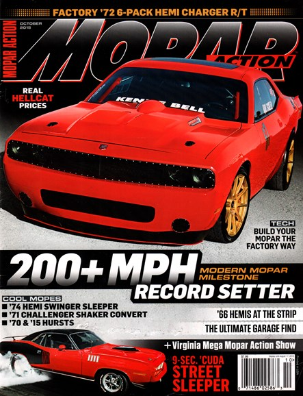 Mopar Action Cover - 10/1/2015