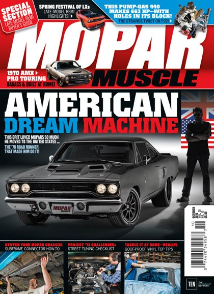 Mopar Muscle Cover - 10/1/2015