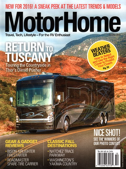 MotorHome Cover - 10/1/2015