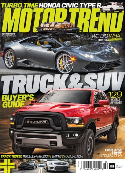 Motor Trend Cover - 10/1/2015