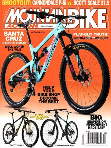 Mountain Bike Action Cover - 10/1/2015