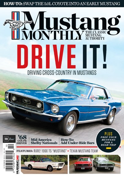 Mustang Monthly Cover - 10/1/2015