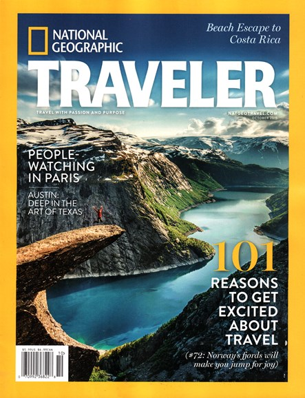 National Geographic Traveler Cover - 10/1/2015