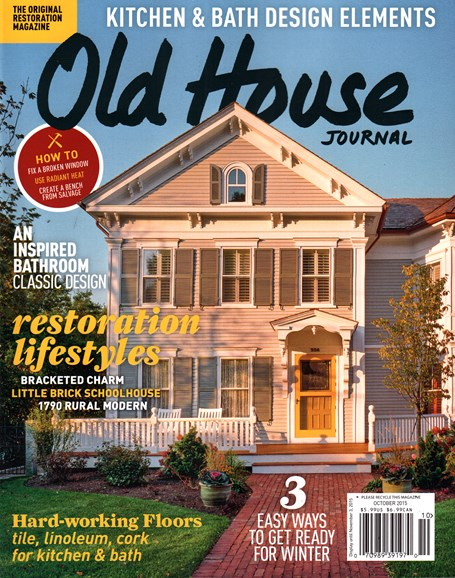 Old House Journal Cover - 10/1/2015