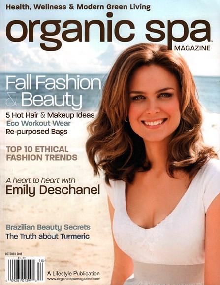 Organic Spa Cover - 10/1/2015