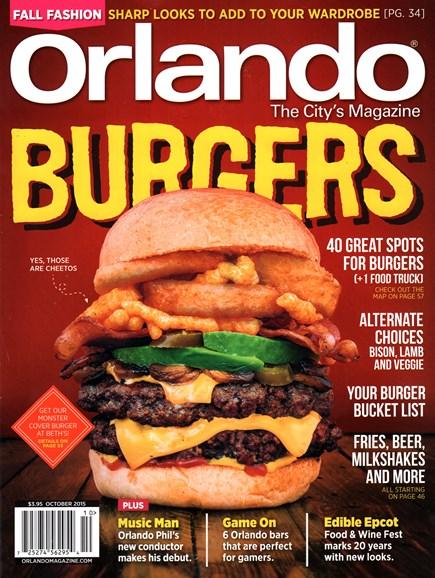 Orlando Magazine Cover - 10/1/2015