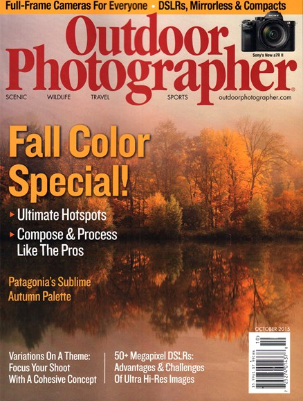 Outdoor Photographer Cover - 10/1/2015
