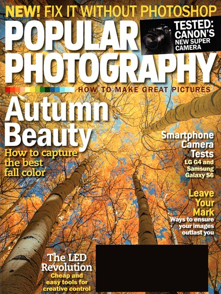 Popular Photography Cover - 10/1/2015