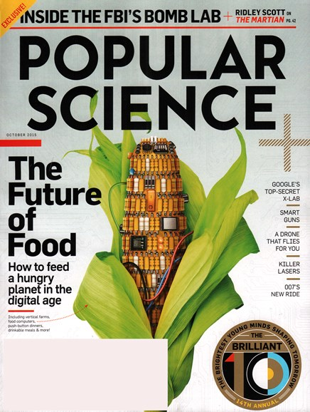 Popular Science Cover - 10/1/2015