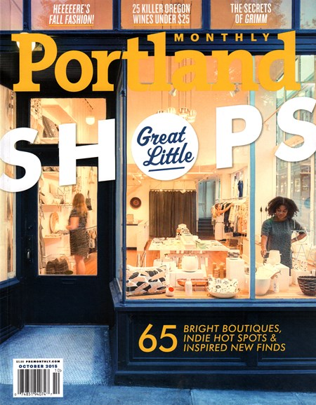 Portland Monthly Cover - 10/1/2015
