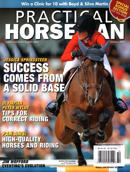 Practical Horseman Cover - 10/1/2015