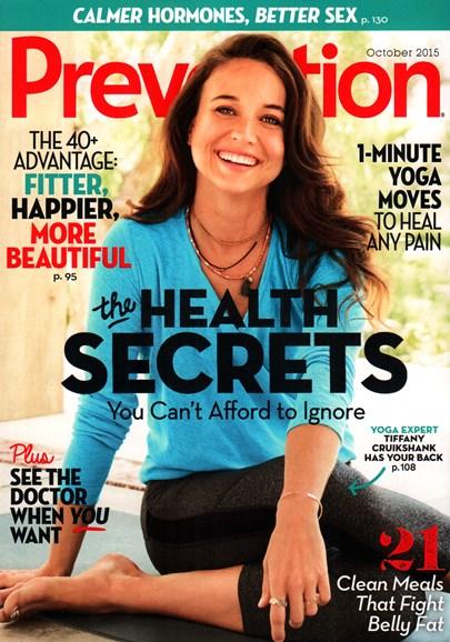 Prevention Cover - 10/1/2015