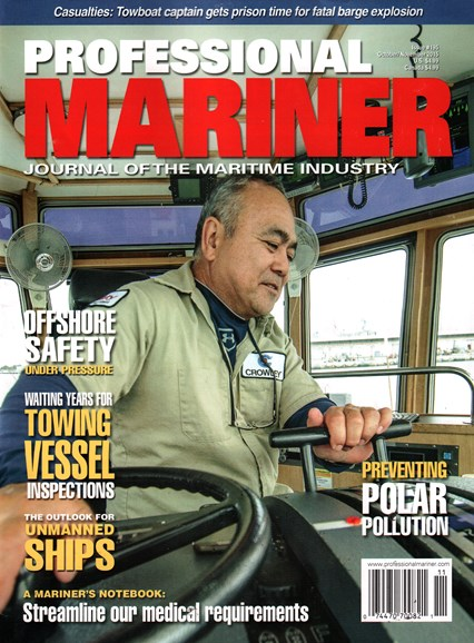 Professional Mariner Cover - 10/1/2015