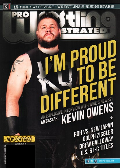 Pro Wrestling Illustrated Cover - 10/1/2015