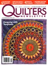 Quilter's Newsletter | 10/1/2015 Cover
