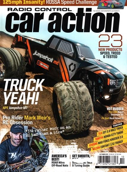 Radio Control Car Action Cover - 10/1/2015