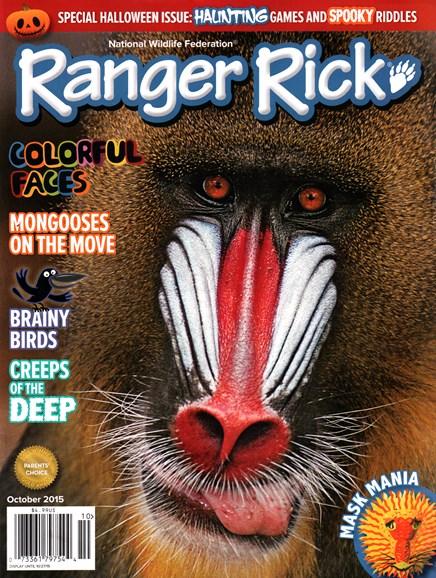 Ranger Rick Cover - 10/1/2015