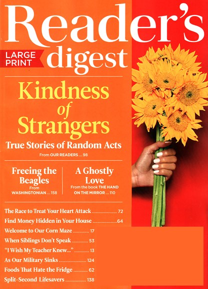 Reader's Digest - Large Print Edition Cover - 10/1/2015