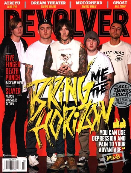 Revolver Cover - 10/1/2015