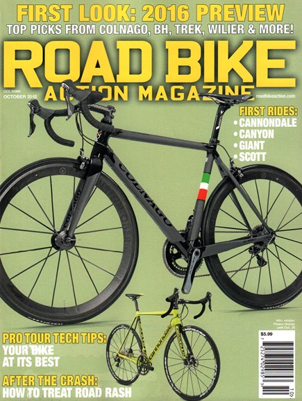 Road Bike Action Cover - 10/1/2015