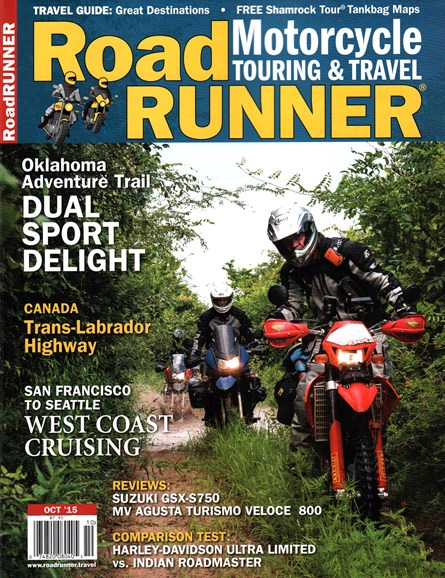 Road RUNNER Motorcycle & Touring Cover - 10/1/2015