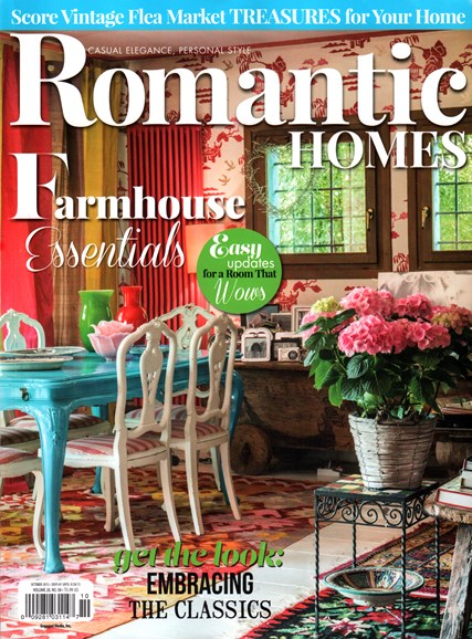 Romantic Homes Cover - 10/1/2015