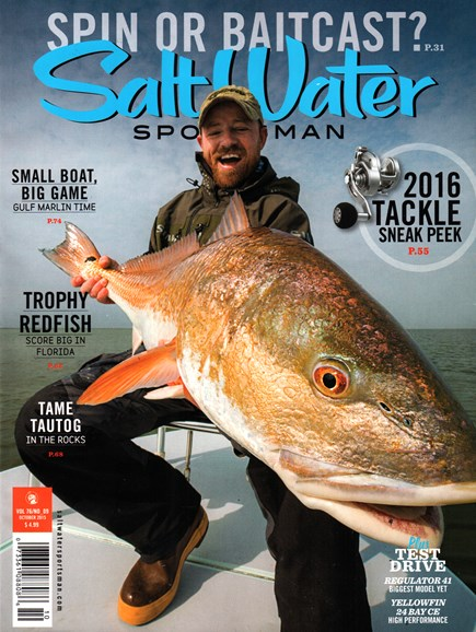 Salt Water Sportsman Cover - 10/1/2015