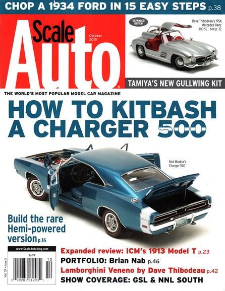 Scale Auto Magazine Cover - 10/1/2015