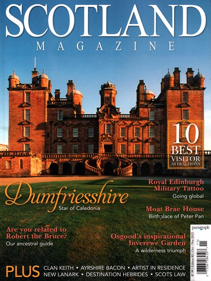 Scotland Magazine Cover - 10/1/2015