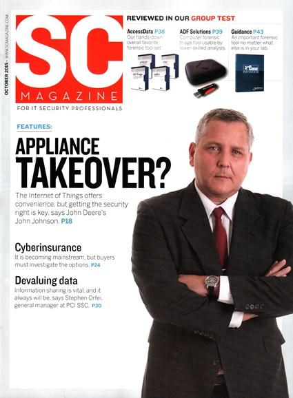 SC Magazine - U.S. edition Cover - 10/1/2015