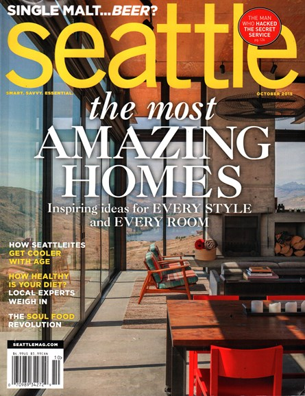 Seattle Magazine Cover - 10/1/2015