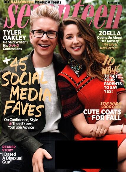 Seventeen Cover - 10/1/2015