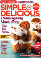 Simple & Delicious Magazine 10/1/2015