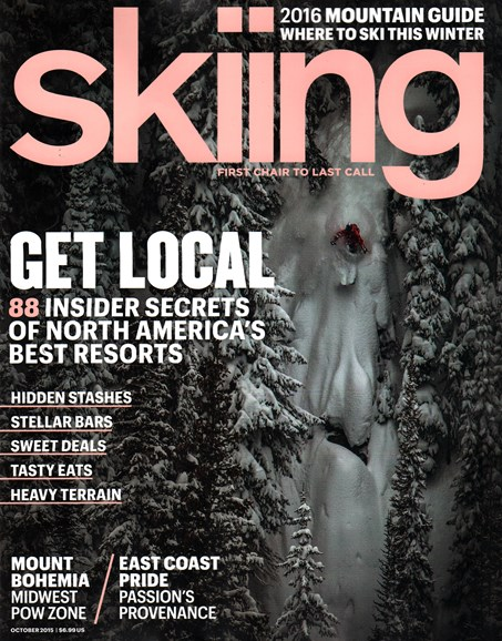 Skiing Cover - 10/1/2015