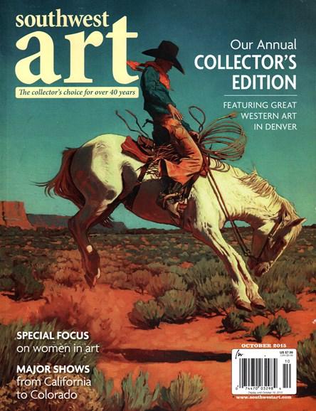 Southwest Art Cover - 10/1/2015