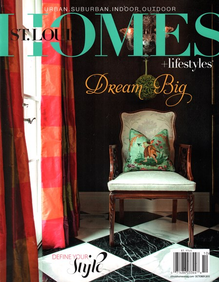 St. Louis Homes & Lifestyles Cover - 10/1/2015