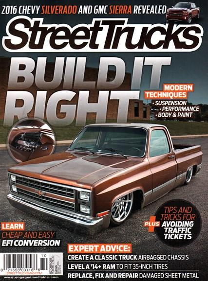 Street Trucks Cover - 10/1/2015