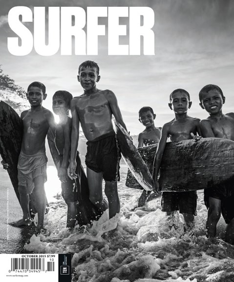 Surfer Cover - 10/1/2015
