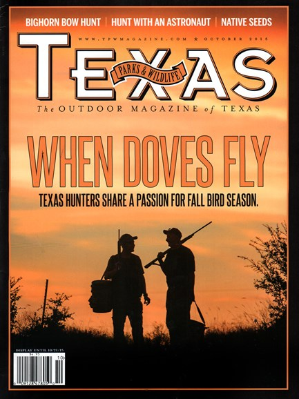 Texas Parks & Wildlife Cover - 10/1/2015