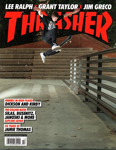 Thrasher Cover - 10/1/2015