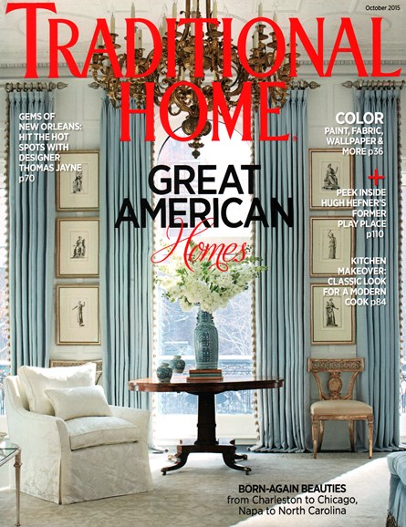 Traditional Home Cover - 10/1/2015