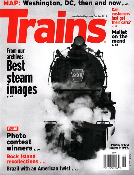Trains Cover - 10/1/2015
