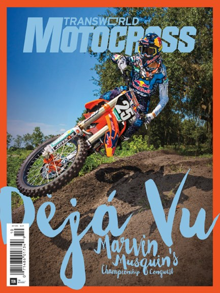 Transworld Motocross Cover - 10/1/2015