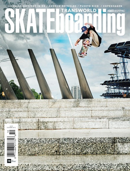 Transworld SKATEboarding Cover - 10/1/2015
