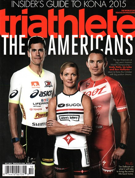 Triathlete Cover - 10/1/2015