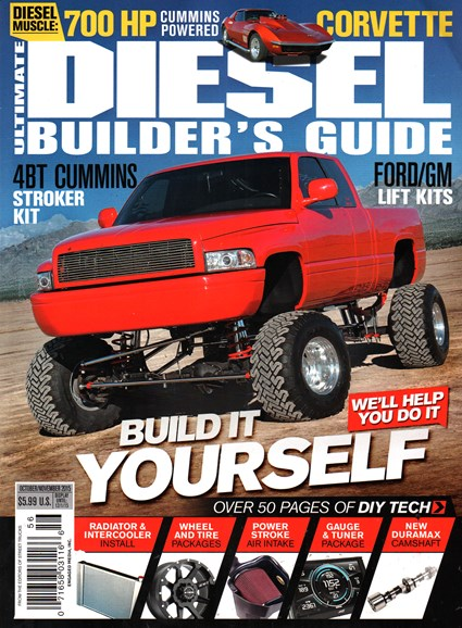 Ultimate Diesel Builder's Guide Cover - 10/1/2015